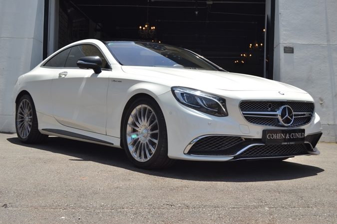 MERCEDES-BENZ S63 AMG COUPE 4MATIC 5.5 V8 TWIN TURBO