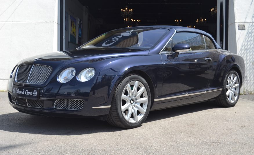 Bentley Continental GTC 6.0 W12 Twin Turbo Auto 560cv