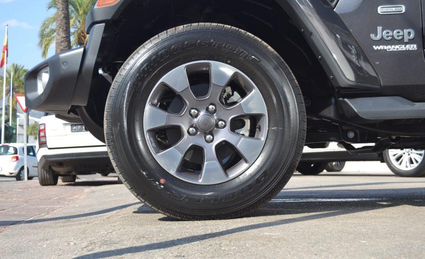 Jeep Wrangler 2.0 Sahara Overland *IVA DEDUCIBLE* *NUEVO*