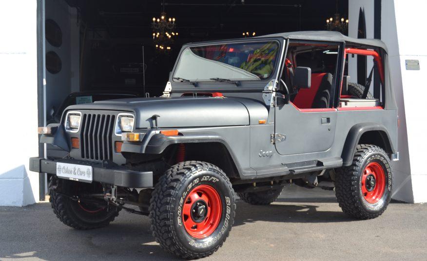 Jeep Wrangler 2.5 Gasolina Manual 121cv