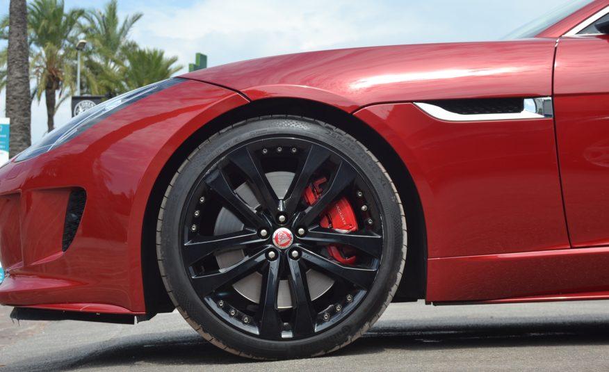 Jaguar F-Type S 3.0 V6 SuperCharged 380cv Coupe