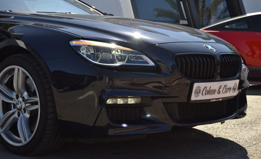 BMW 640 Diesel XDrive Coupe * Matricula Rusa*
