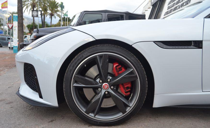Jaguar F-Type R Coupe 5.0 V8 550cv *LT PLATES*