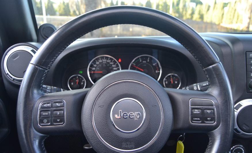 RENTAL JEEP WRANGLER UNLIMITED 2.8 DIESEL AUTO RUBICON 200CV