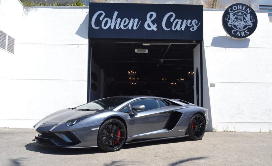 Lamborghini Aventador S 6.5 V12 740cv *FRENCH PLATES* *VAT PAID*