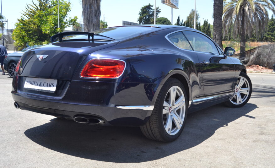 Bentley GT Coupe 4.0 V8 Twin Turbo 507hp *National*
