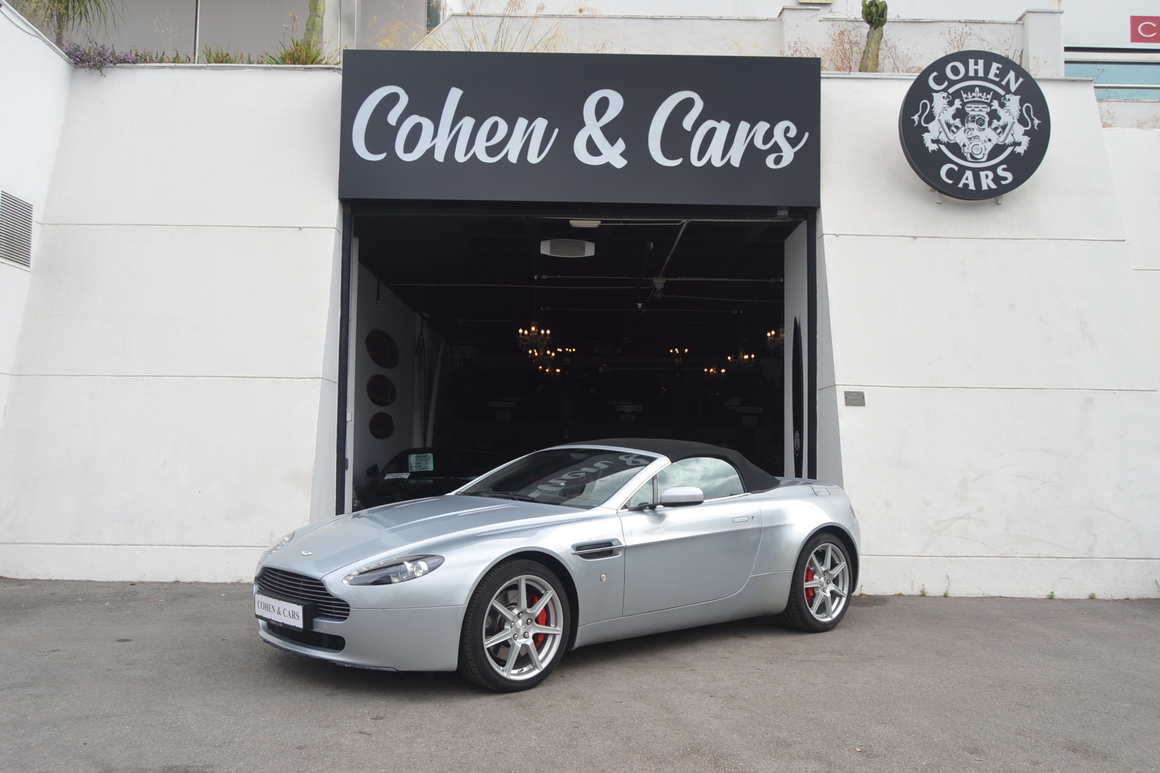 Aston Martin V8 Vantage Cabrio 4 3 Auto Cohen Cars