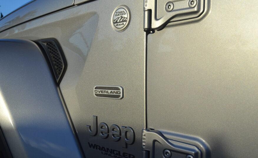 Jeep Wrangler Unlimited Sahara Overland 1941 Edition 2.0 Petrol Turbo Auto *NEW NEW NEW* *VAT/IVA DEDUCTIBLE*