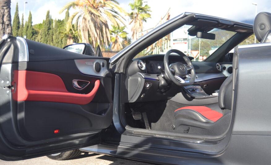 Mercedes-Benz E220 Cabrio 2.0 Diesel Auto 194hp *National*