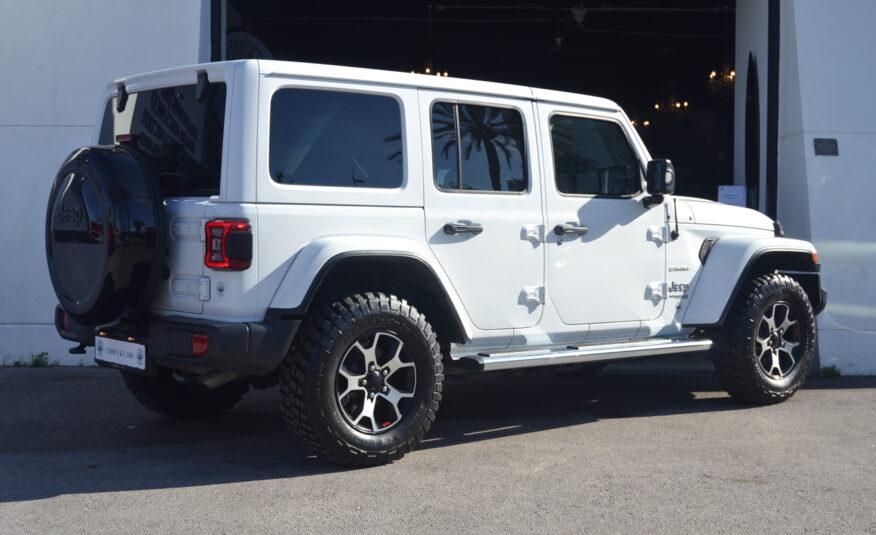 Jeep Wrangler Unlimited Sahara 2.0 Petrol Turbo Auto 270hp