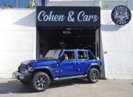 JEEP Wrangler Unlimited Sahara 2.2 Diesel Auto *RUBICON 17″ WHEELS* *DELIVERY KM´S* *VAT DEDUCTIBLE*