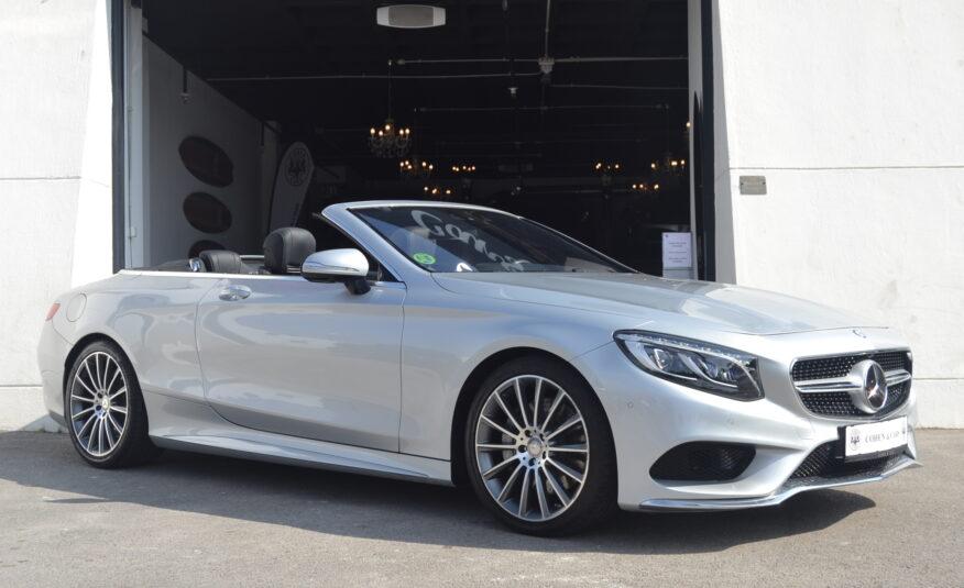 Mercedes-Benz S500 Cabrio AMG 4.6 Auto Gasolina *NACIONAL*