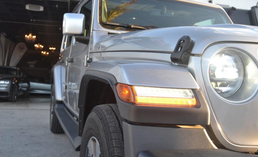 Jeep Wrangler Unlimited Sahara Overland Edición 1941  2.0 Gasolina Turbo Auto *NUEVO NUEVO NUEVO* *IVA DEDUCIBLE*