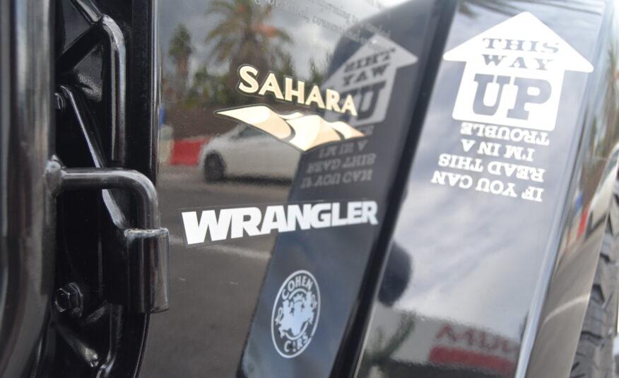 Jeep Wrangler Sahara 2.8 Diesel Auto 200cv Edición Safari *NACIONAL*