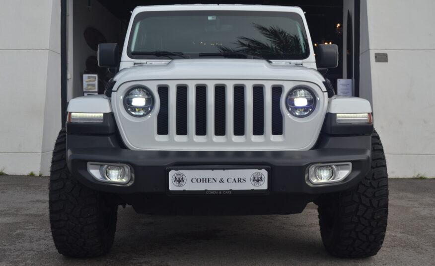 JEEP Wrangler Unlimited Sahara 2.0 GasolinaTurbo Auto 270cv *Ruedas FUEL 20″*