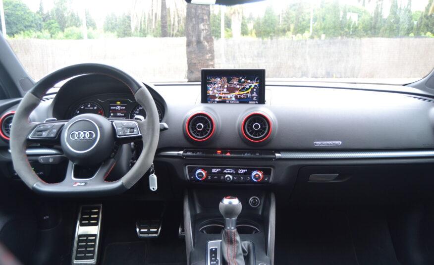 Audi RS3 FastBack 2.5 Gasolina Turbo Quattro 4×4 Auto 400cv *Pocos KM´s*